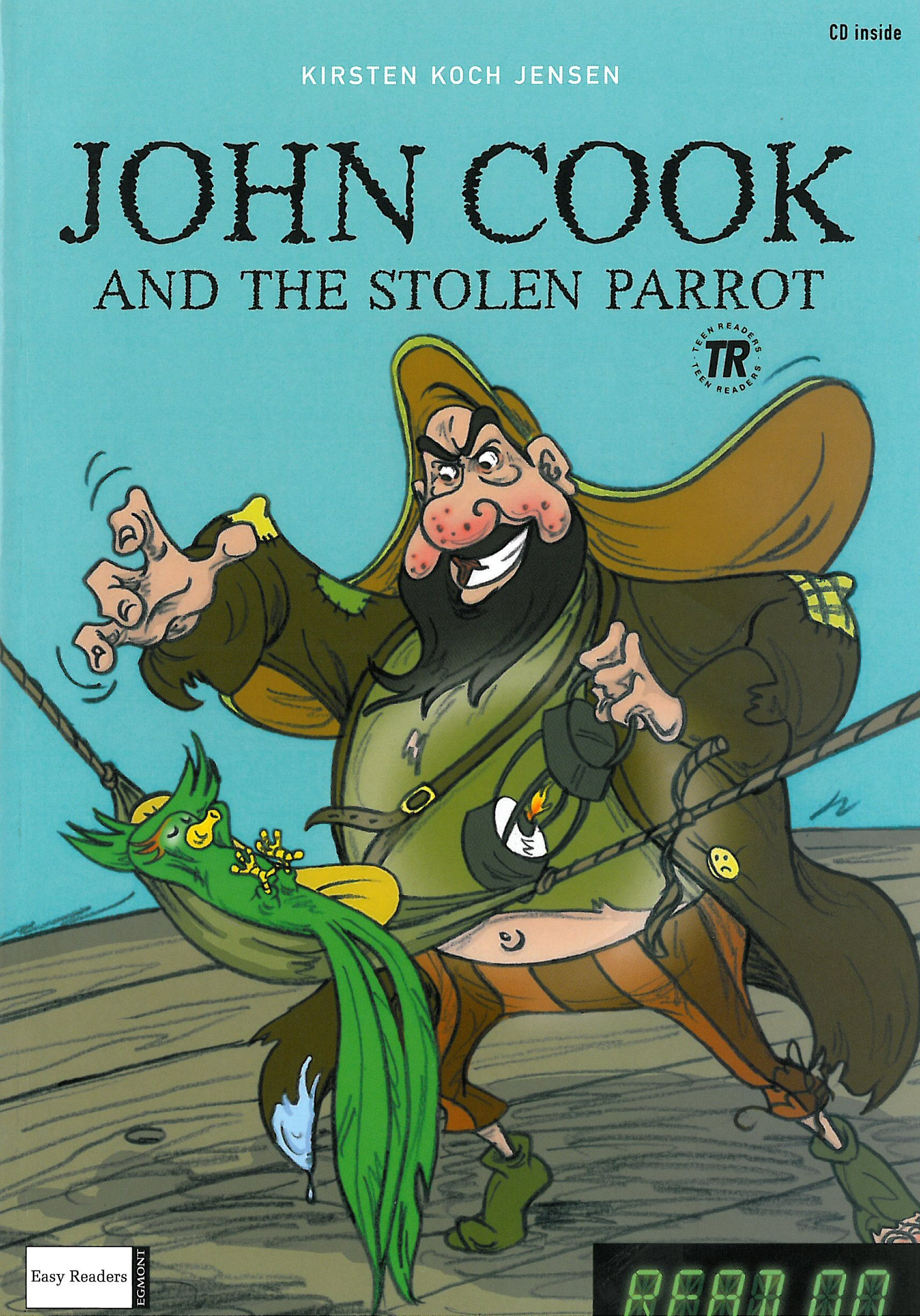 John Cook and the Stolen Parrot/John Cook Opens a Restaurant - READ ON series